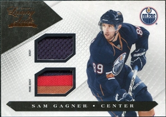 2010/11 Panini Luxury Suite Jerseys Prime #28 Sam Gagner /150