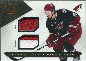 2010/11 Panini Luxury Suite Jerseys Prime #54 Shane Doan /150