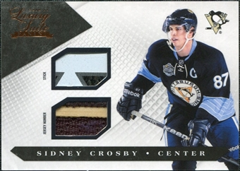 2010/11 Panini Luxury Suite Jersey Numbers Sticks #56 Sidney Crosby /50