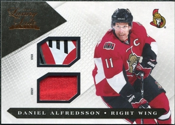 2010/11 Panini Luxury Suite Jerseys Sticks #48 Daniel Alfredsson 20/100