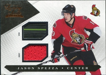 2010/11 Panini Luxury Suite Jerseys Sticks #49 Jason Spezza /100