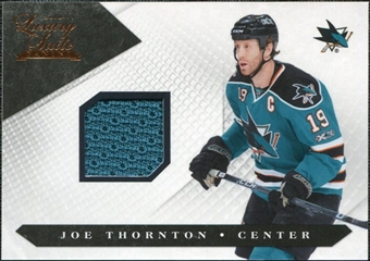 2010/11 Panini Luxury Suite #60 Joe Thornton Jersey /599
