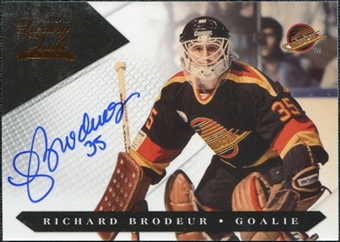 2010/11 Panini Luxury Suite #113 Richard Brodeur Autograph /199