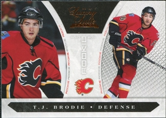 2010/11 Panini Luxury Suite #180 T.J. Brodie /899