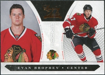 2010/11 Panini Luxury Suite #184 Evan Brophey /899