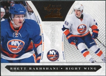 2010/11 Panini Luxury Suite #230 Rhett Rakhshani /899