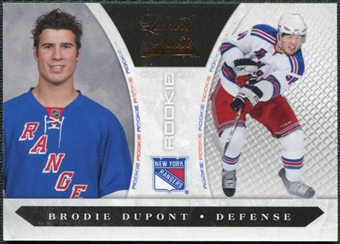 2010/11 Panini Luxury Suite #250 Brodie Dupont /899