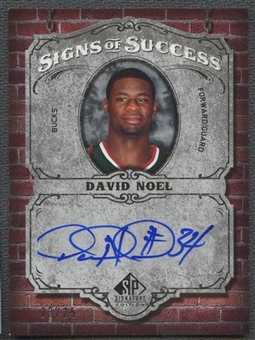 2006/07 Upper Deck SP Signature Edition Basketball David Noel Auto #23/25