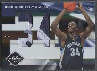 2009/10 Panini Limited Basketball Hasheem Thabeet Patch #02/10