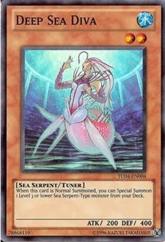 Yu-Gi-Oh Turbo Pack 4 Single Deep Sea Diva Super Rare TU04