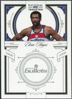 2009/10 Panini Playoff National Treasures #129 Elvin Hayes /99