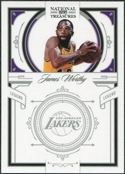 2009/10 Panini Playoff National Treasures #154 James Worthy /99