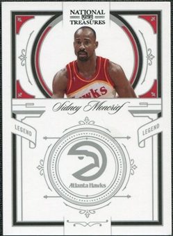 2009/10 Panini Playoff National Treasures #178 Sidney Moncrief /99