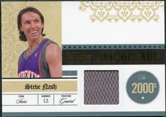 2009/10 Playoff National Treasures All Decade Materials #20 Steve Nash /49