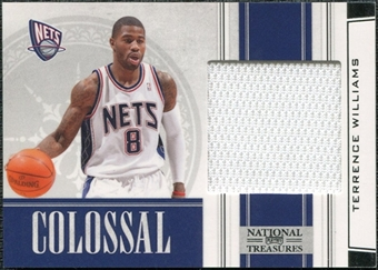 2009/10 Playoff National Treasures Colossal Materials #16 Terrence Williams /25
