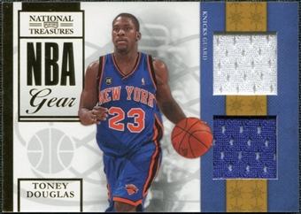 2009/10 Panini Playoff National Treasures NBA Gear Dual #18 Toney Douglas /25