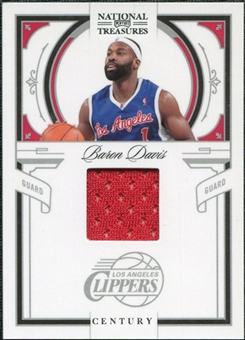 2009/10 Panini Playoff National Treasures Century Materials #45 Baron Davis /99