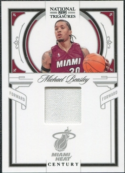 2009/10 Playoff National Treasures Century Materials #47 Michael Beasley /99
