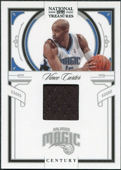 2009/10 Panini Playoff National Treasures Century Materials #63 Vince Carter /99