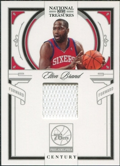 2009/10 Panini Playoff National Treasures Century Materials #67 Elton Brand /99