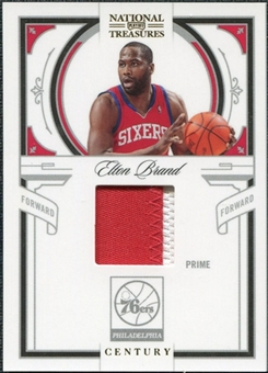 2009/10 Playoff National Treasures Century Materials Prime #67 Elton Brand /25