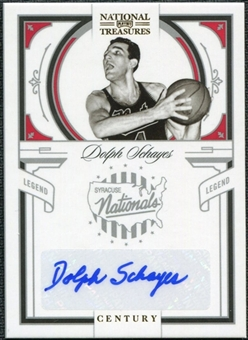 2009/10 Playoff National Treasures Century Signatures #104 Dolph Schayes /25