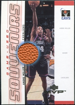 2000/01 Upper Deck MVP Game-Used Souvenirs #AMS Andre Miller