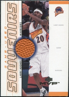 2000/01 Upper Deck MVP Game-Used Souvenirs #LHS Larry Hughes