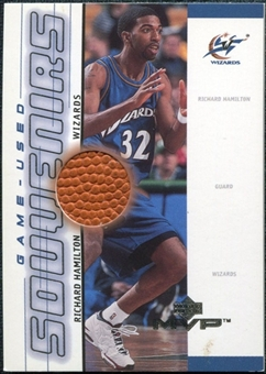 2000/01 Upper Deck MVP Game-Used Souvenirs #RHS Richard Hamilton