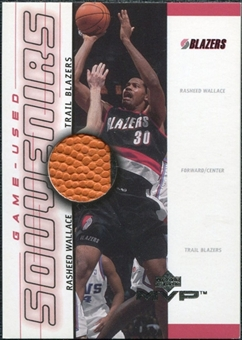 2000/01 Upper Deck MVP Game-Used Souvenirs #RWS Rasheed Wallace