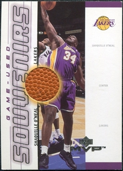 2000/01 Upper Deck MVP Game-Used Souvenirs #SOS Shaquille O'Neal