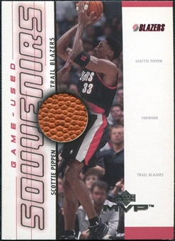 2000/01 Upper Deck MVP Game-Used Souvenirs #SPS Scottie Pippen