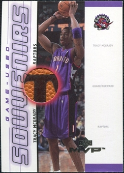 2000/01 Upper Deck MVP Game-Used Souvenirs #TMS Tracy McGrady