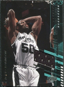 2000/01 Upper Deck Game Jerseys 1 #DRC David Robinson