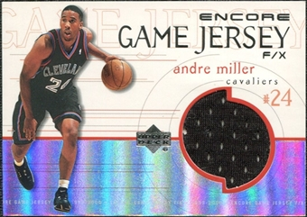 1999/00 Upper Deck Encore Game Jerseys #AMJ Andre Miller