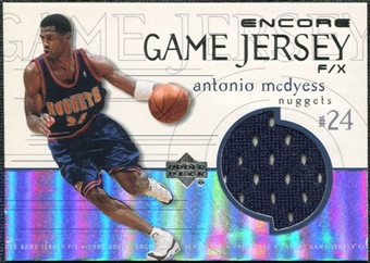 1999/00 Upper Deck Encore Game Jerseys #MCJ Antonio McDyess