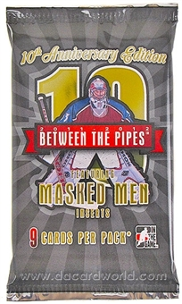 2011/12 In The Game Between the Pipes Hockey Hobby Pack