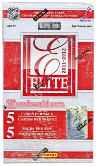 2011/12 Panini Elite Hockey Blaster Box