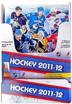 2011/12 Panini Hockey Sticker Box
