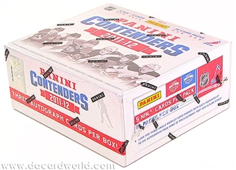 2011/12 Panini Contenders Hockey Hobby 14-Box Case - DACW Live 28 Team Random Break