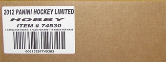 2011/12 Panini Limited Hockey Hobby 15-Box Case