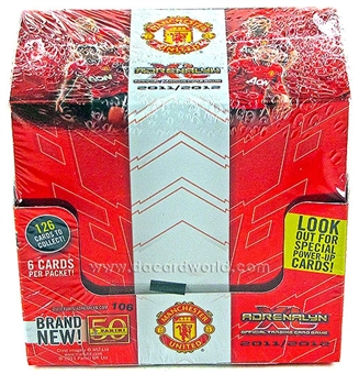 2011/12 Panini Adrenalyn XL Soccer 50-Pack Box
