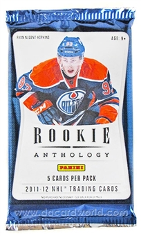 2011/12 Panini Rookie Anthology Hockey Hobby Pack
