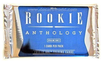 2011/12 Panini Rookie Anthology Hockey Hobby Topper Pack