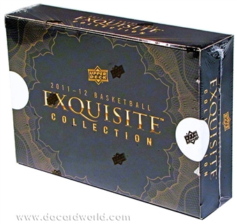 2011/12 Upper Deck Exquisite Basketball Hobby Case - DACW Live 5 Spot Card Draft Style