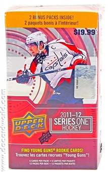 2011/12 Upper Deck Series 1 Hockey 12-Pack Box