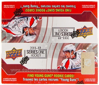 2011/12 Upper Deck Series 1 Hockey Retail 24-Pack Box