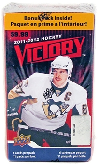 2011/12 Upper Deck Victory Hockey 11-Pack Blaster 5-Box Lot