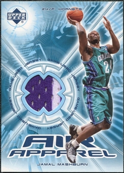 2002/03 Upper Deck Air Apparel #JMAA Jamal Mashburn