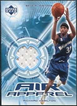 2002/03 Upper Deck Air Apparel #RHAA Richard Hamilton